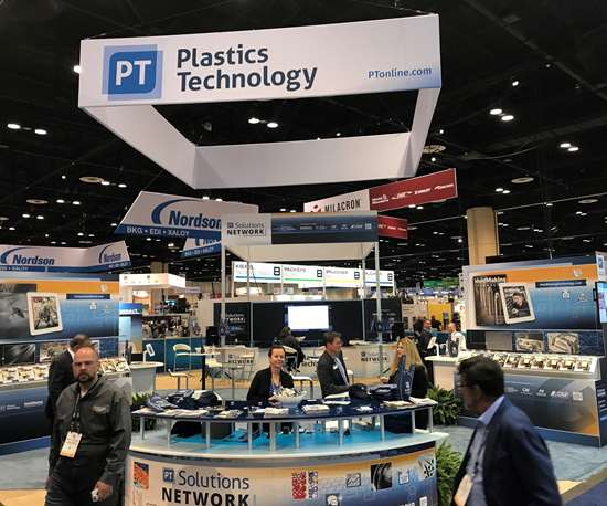 Plastics Technology Booth at NPE2018