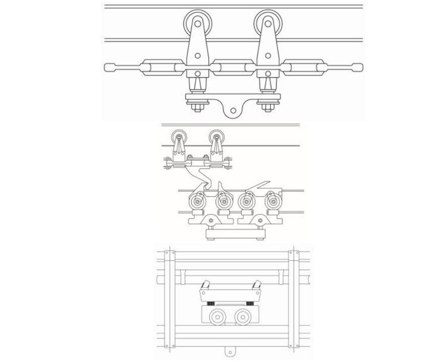 tres tipos de sistemas transportadores