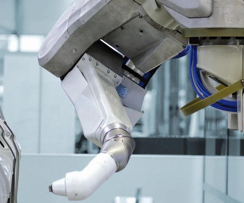 robot pintado