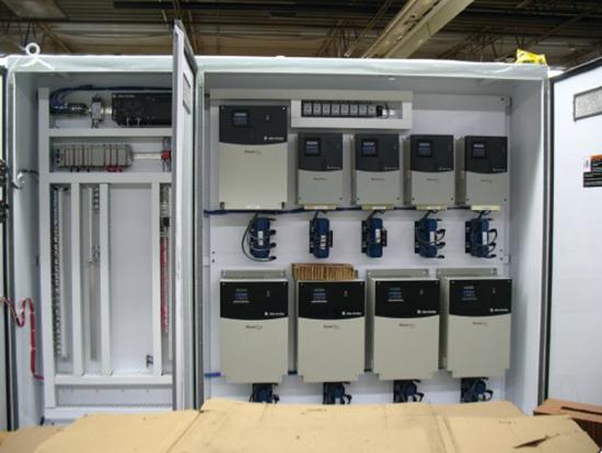 panel de control de cabinas