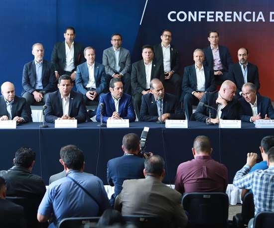 Gobernadores de la Alianza Centro-Bajío-Occidente