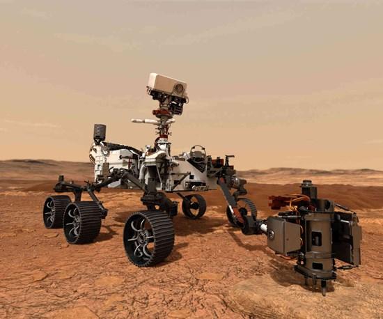 Proceso de recubrimiento de lubricante por impacto facilita la misión Mars 2020