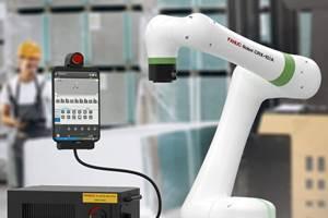 FANUC lanza un sitio web de aprendizaje electrónico para su CRX Cobot