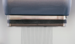 Aplicación de pintura sin atomizador elimina el exceso de pulverización