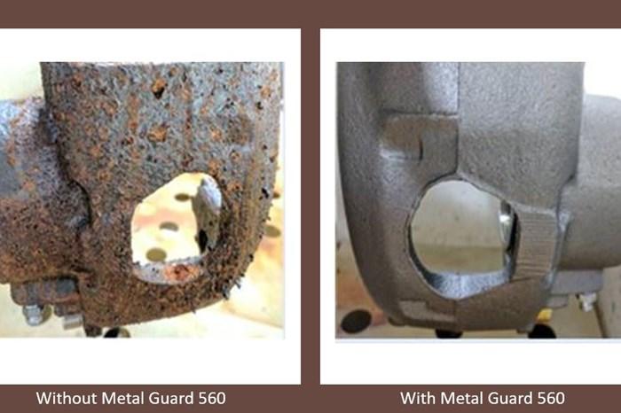 Metal Guard 560 de Hubbard-Hall previene la oxidación con una película delgada