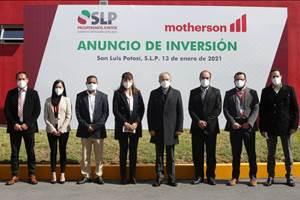 Invierte Motherson en nueva línea de producción en San Luis Potosí