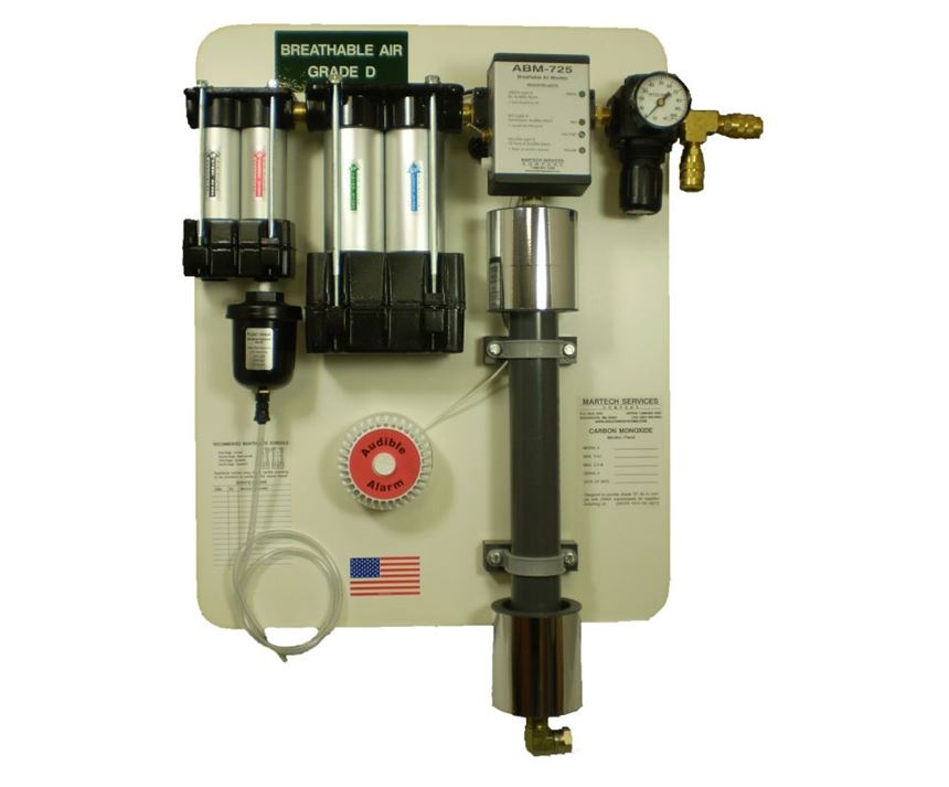 Martech Model 50-WB combination waterborne/breathable air system