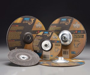 Saint-Gobain Abrasives Norton Quantum3 depressed-center grinding wheels