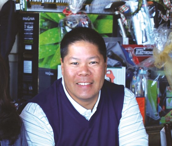 Ron Lum, Coral Chemical sales manager and CCAI president