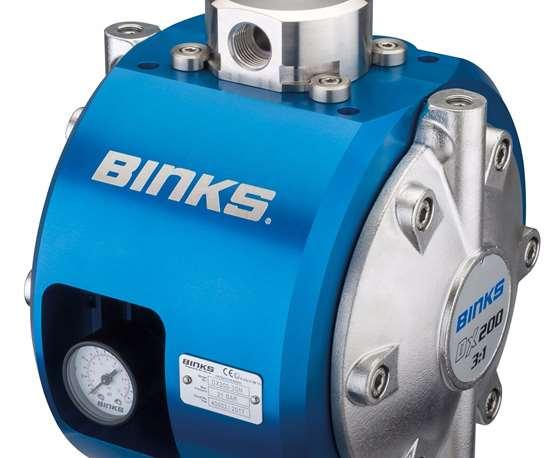 Carlisle Fluid Technologies Binks DX200-3 double-diaphragm pump