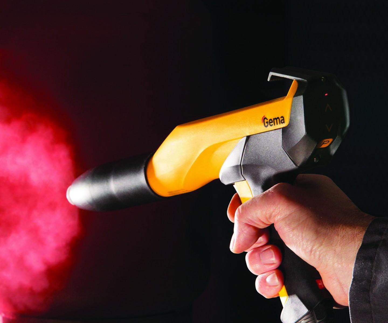 Gema RobotGun powder coating gun