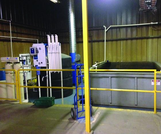 Houghton International zero-discharge system