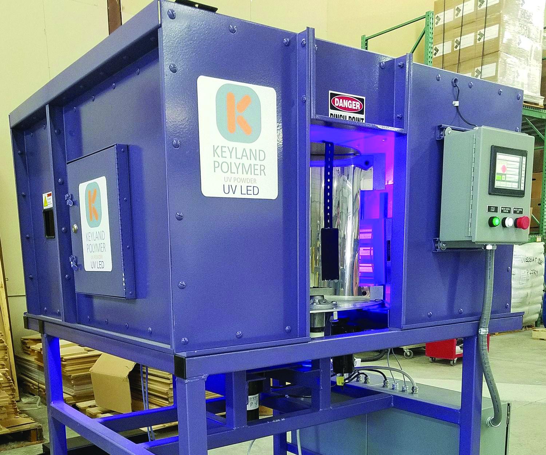 Keyland Polymer UV LED curing oven