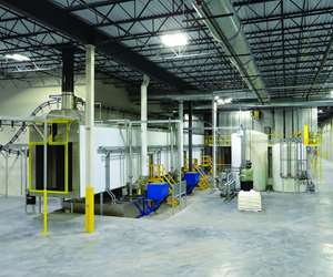 Midwest Finishing Systems curing oven