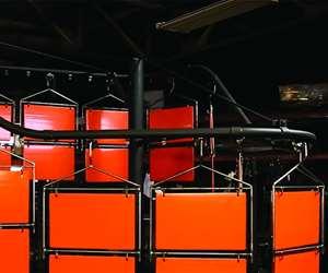 Mighty Hook Angle Pivot powder coating tooling system