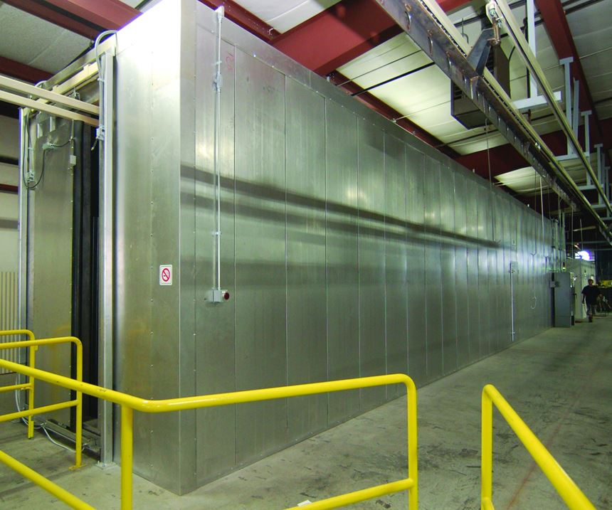 Pneu-Mech Systems drying and curing ovens