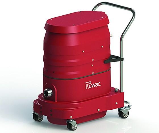 Ruwac PCS Series industrial vacuum cleaner