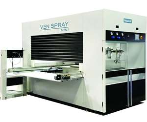 Venjakob Ven spray Mini automatic spray coating system