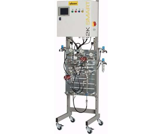 Wagner 2K-Smart plural-component dosing and mixing system