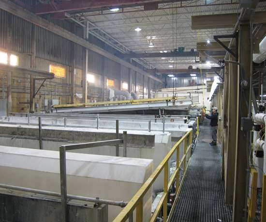 Futura Industries lean anodizing operations