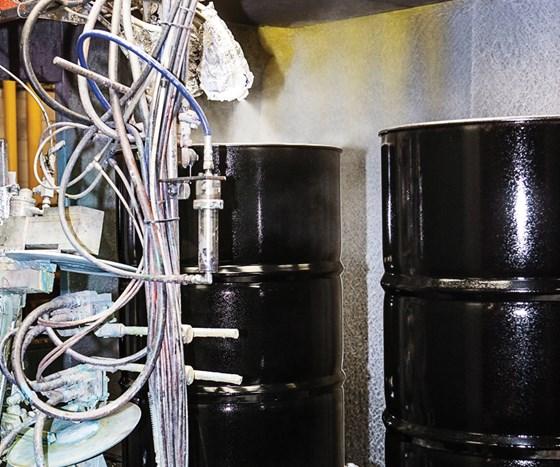 Mauser liquid paint operation