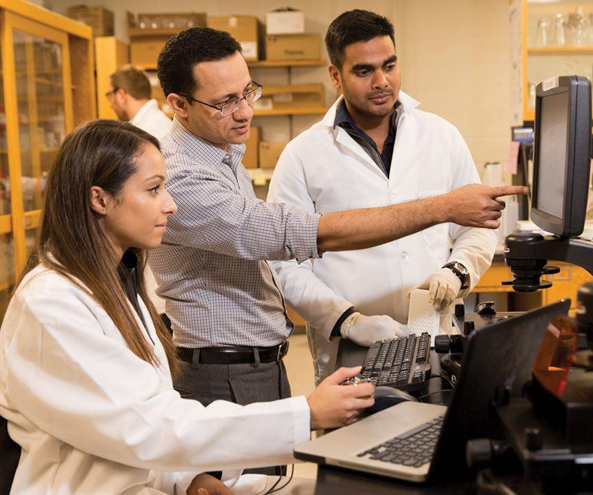 University of Georgia scientist Hitesh Handa developing biocompatible polymer coatings