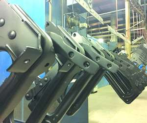 Axalta Coating Systems electrocoated steel parts