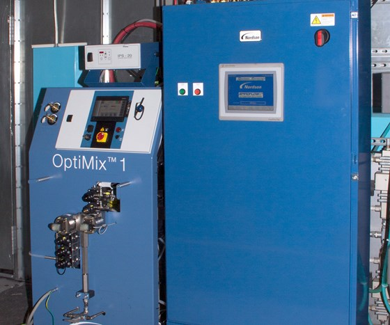 Nordson OptiMix 1 plural-component mixing system
