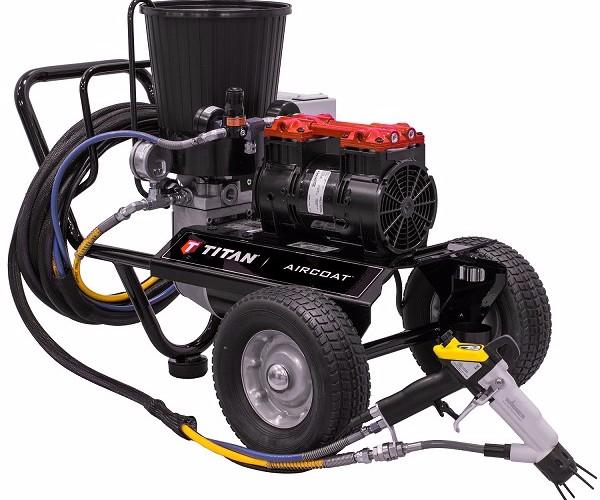 Titan GM5000 Electrostatic System