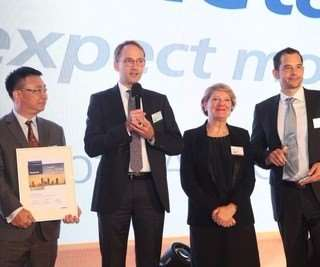 Chemetall receives Arbus Best Performer Award