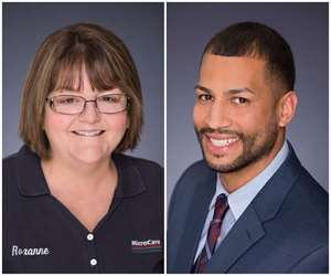 MicroCare promotes Roxanne Stinney and Luis Rodriguez