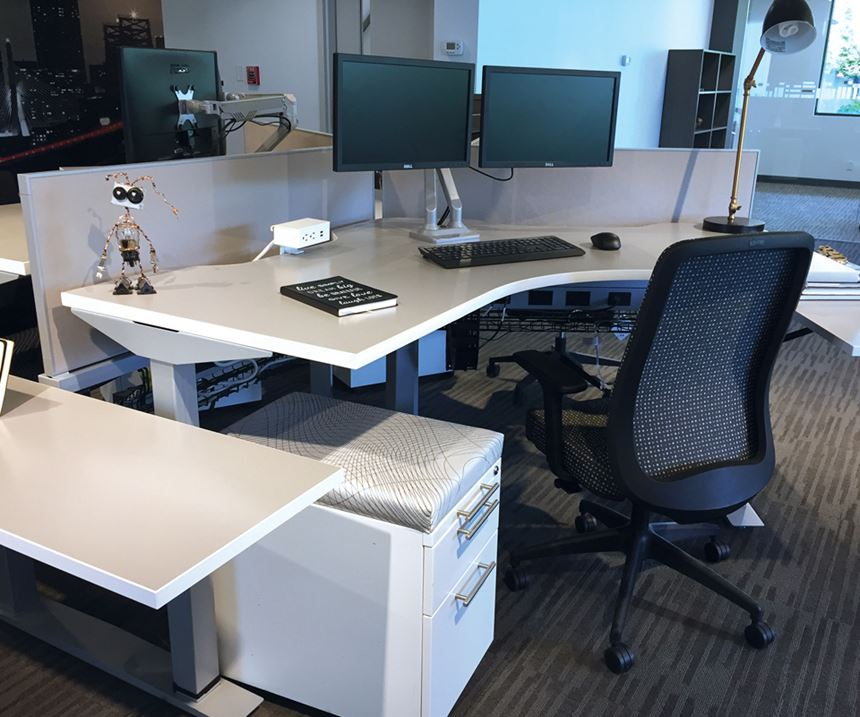 Commercial office furniture and seating from Affordable Interior Systems.