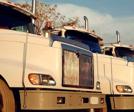 photo of several trucks