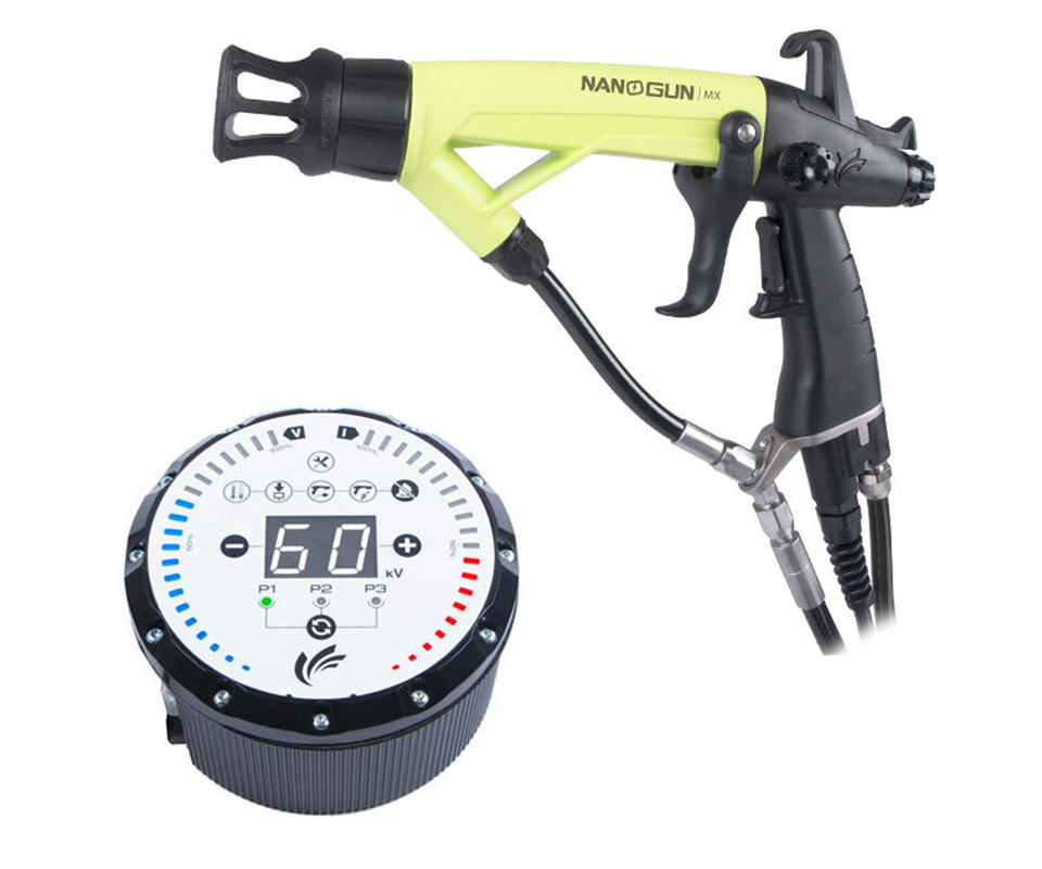 Sames Kremlin's Nanogun Airmix manual electrostatic spray gun (Nanogun-MX)