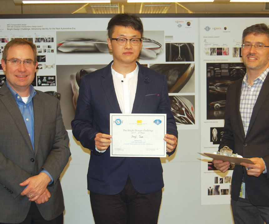 NASF Bright Design Challenge winner Jiayi Sun