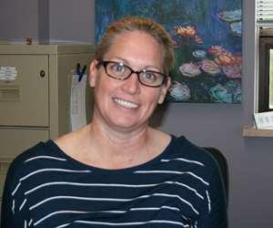 Liz Mendonca, production manager, Hubbard-Hall Inc.