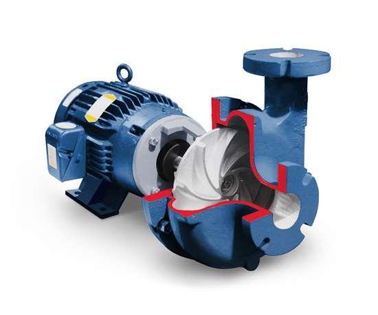 Vertiflo Pump Co.'s Series 1600 industrial horizontal vortex sump pump