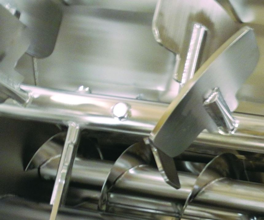 Sanitary equipment used in food and chemical processing