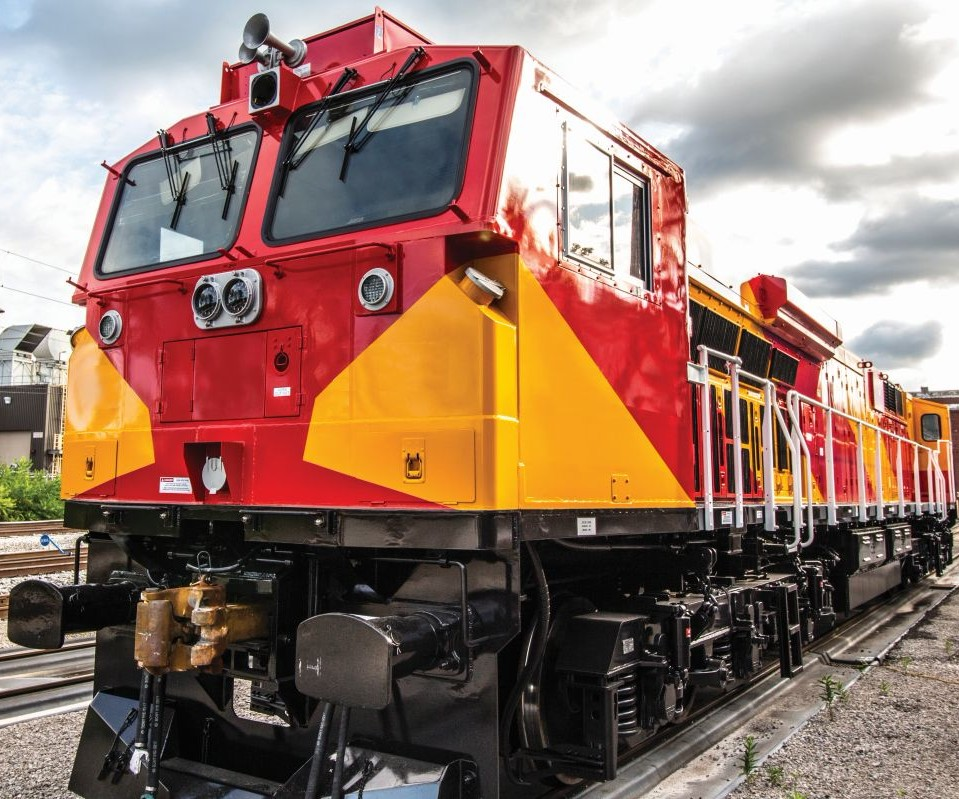 locomotive built by GE Transporation
