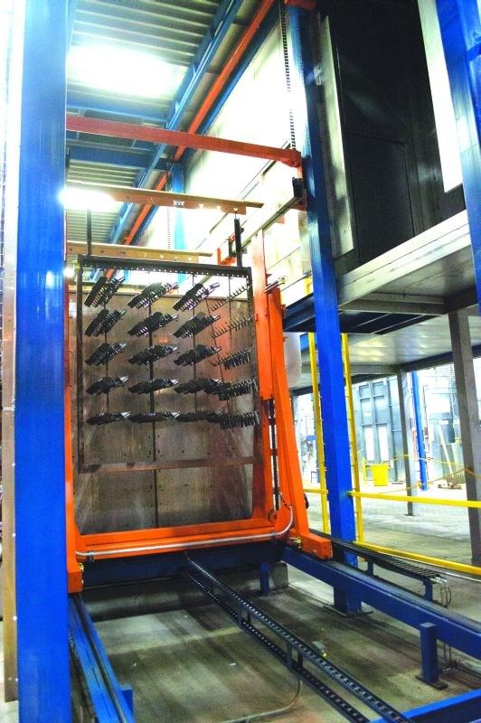 Therma-Tron-X Sliderail Square Transfer material-handling system