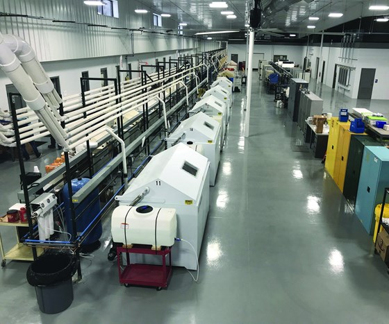 Assured Testing Services facility for automotive cyclic corrosion testing