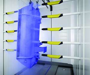 Gema OptiGun GA03 automatic powder coating gun