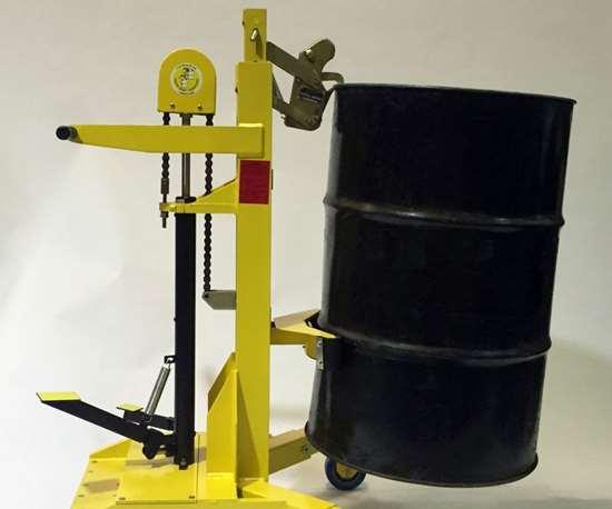 Liftomatic Ergo-Matic drum handling equipment