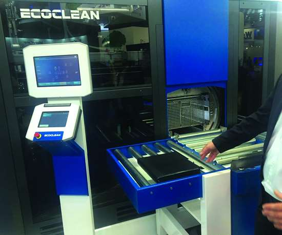 Ecoclean EcoCcore solvent cleaning machine