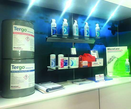 MicroCare Tergo cleaning fluid
