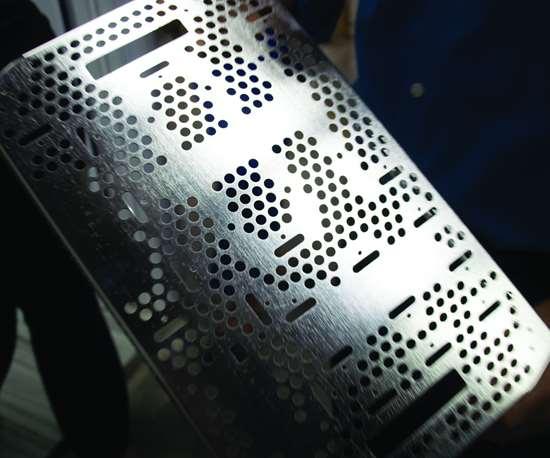 electropolished metal component