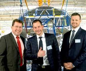 Chemetall executives awarded Airbus SQIP award