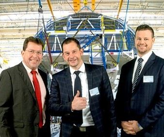 Chemetall executives awarded Airbus SQIP award