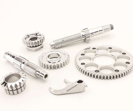 metal parts finished with centrifugal iso-finishing
