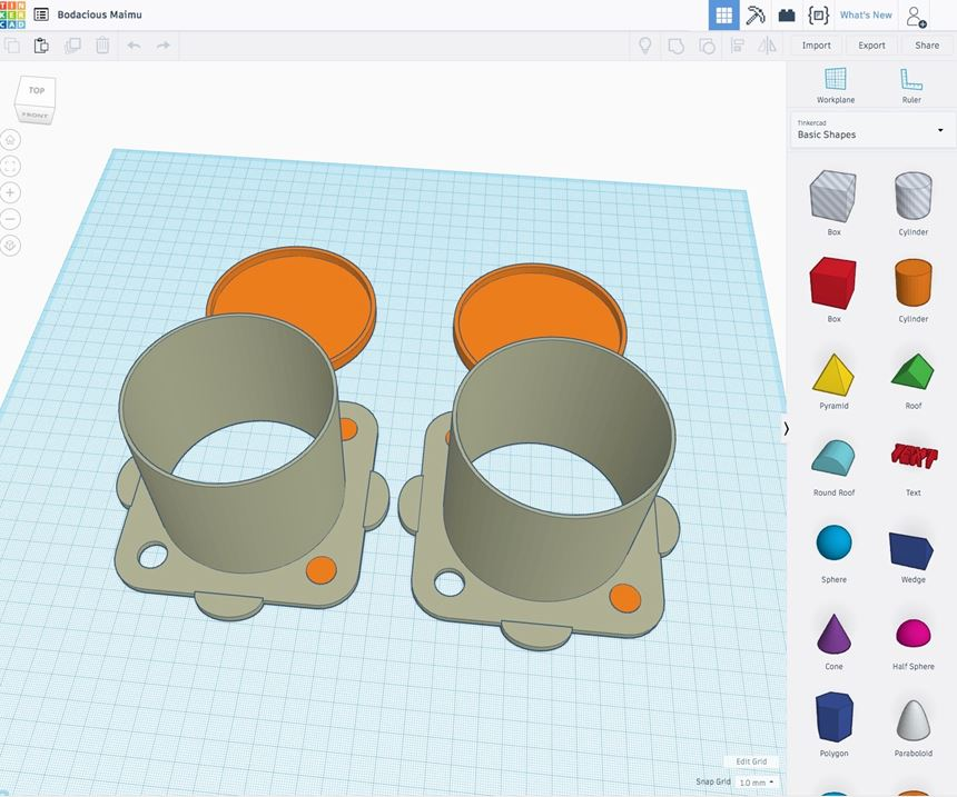 software for 3D printing of masking for liquid and powder coating